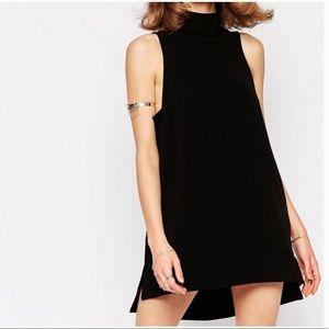 Free People Goldie Black Tunic Dress XS